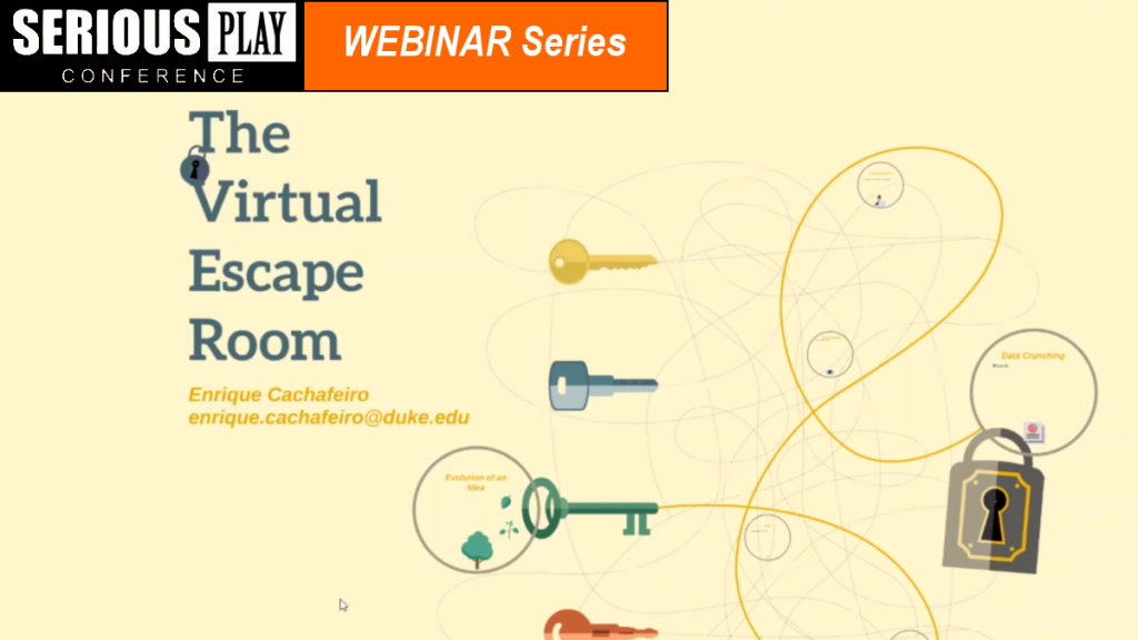 The Virtual Escape Room:  Enrique Cachafeiro, Duke Health