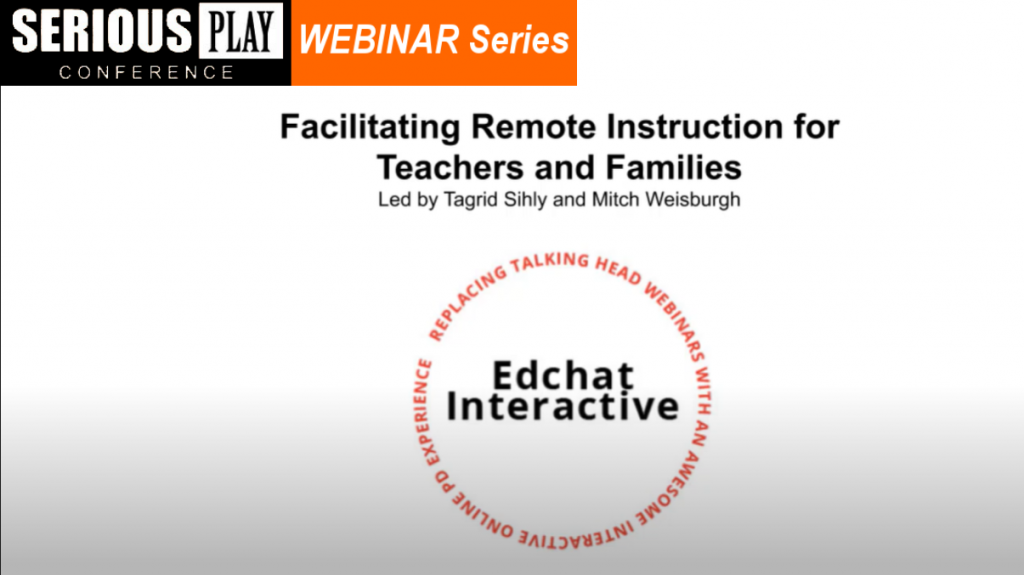 Edchat Interactive: Facilitating Remote Instruction with Tagrid Sihly